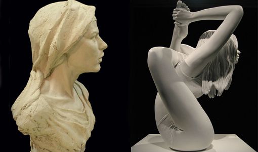 Beautiful Women Sculptures